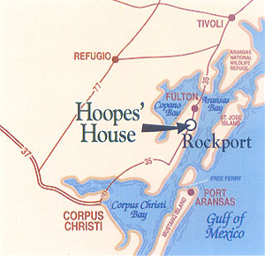 Make Your Reservations Today for Hoopes' House in Rockport, TX
